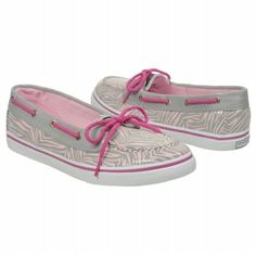 Kids Sperry Top-Sider ' Biscayne PS/GS Grey/Pink Zebra FamousFootwear.com