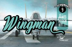 50% off Wingman by Fontforecast on @creativemarket