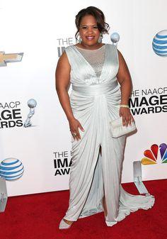 Chandra Wilson In Tadashi Shoji – 2013 NAACP Image Awards