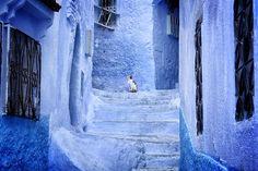 Сказочно синий город
