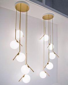 """Soudasouda: """"Há força em números.  Via- gorgeous, lighting, design Postado em Tumblr de Souda Do tabuleiro Pinterest: Luzes Pingente, Lâmpadas Pendentes Modernas, & Iluminação Suspensa Contemporânea """""""