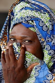 Africa | Muslim woman, Lome, Togo | ©Robert Harding Picture Library