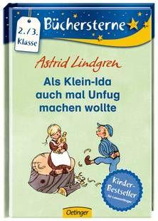Als Klein-Ida auch mal Unfug machen wollte. Keine Lust auf Bravsein! Klein-Ida eifert ihrem Bruder Michel aus Lönneberga nach. Ab 8 Jahren.