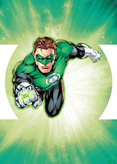 #green #lantern Hal Jordan