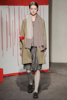 160 photos of Daniela Gregis at Milan Fashion Week Fall 2012.