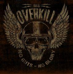 OVERKILL - LA MARCA DEL DIABLO by Maleficio Rodriguez, via Behance