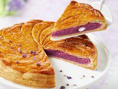 Galette à la crème violette et amande - Recettes