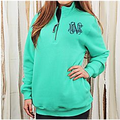 Monogrammed Personalized Quater Zip 1/4 Pullover Lilly Pulitzer... ($35) ❤ liked on Polyvore featuring tops, hoodies, sweatshirts, white, women's clothing, 1/4 zip pullover sweatshirt, quarter zip sweatshirt, 1/4 zip pullover, pullover sweatshirt and zipper sweatshirt
