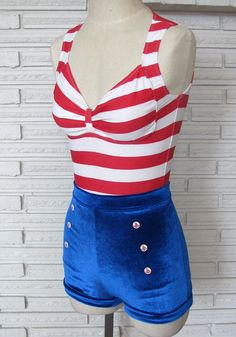 Pin Up Sailor Halloween Costume