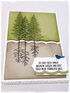 Mein Halt - Wurzeln aus den drei kleinen Bäumen des Stempelsets Wald der Worte. Thoughtful Branches. www.ichwillstempeln.de, Stampinup