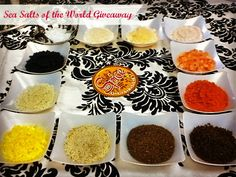 Sea Salts of the World Giveaway- a giveaway for serious foodies!