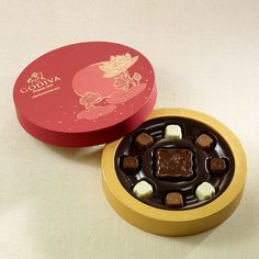 Mid-Autumn Festival Gift Box - Godiva US made chocolate mooncakes inspired by Chinese tradition