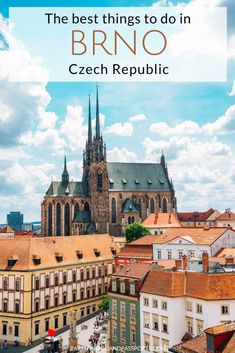 Wondering is Brno worth visiting? Here are the top reasons to visit Brno Czech Republic, plus 7 incredible things to do in Brno, Czech Republic, including a visit to Europe's second largest ossuary, a drive through beautiful rolling fields that look like a postcard, and a charming Old Town with cobblestone streets and colorful buildings. | Day trip from Vienna | Day trip from Prague | Day trip from Bratislava | Czechia | Europe travel | Things to do in Czech Republic | Places to visit in…