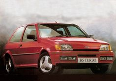 1990 Ford Fiesta RS Turbo Ford Rs, Car Ford, Ford Classic Cars, Ford Escort, Ford Motor Company, Ford Focus, Concept Cars, Cars Motorcycles, Cool Cars
