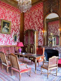 Château de Champs sur Marne interior, France