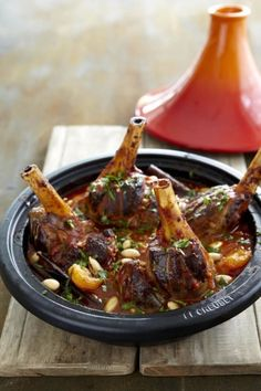 Moroccan Lamb Shank Tagine on www.nomu.co.za