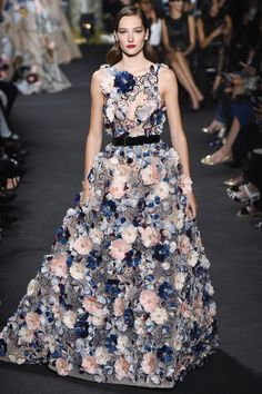Elie Saab Fall 2016 Couture Fashion Show - Josephine Le Tutour (Elite)
