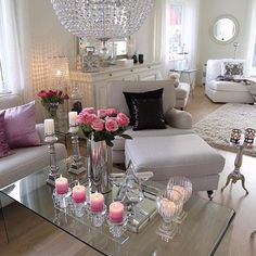 Love all the candles and flowers