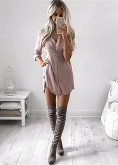 30 Trending And Feminine Summer Outfits From Fashionista : Kirsty Fleming Girly Outfits, Mode Outfits, Fall Outfits, Outfits 2016, Night Outfits, Dress Outfits, Kirsty Fleming, Vetement Fashion, Looks Style