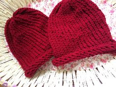 Red hat by Velvetrosi on Etsy