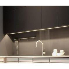 Flexible strip with adhesive back, for kitchen cabinets, bedsides, desks, the possibilities are endless to create wonderful lighting effects Strip Lighting, Outdoor Lighting, Led Flexible Strip, Light Fittings, Kitchen Lighting, Desks, Color Change, Adhesive, Remote