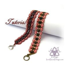 Airmid Bracelet Tutorial with Silky Beads, SuperDuo Beads and Crystal Bicones. pdf English Only,