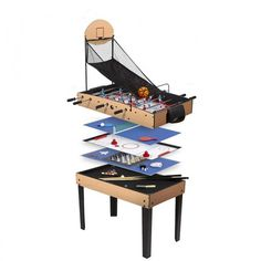 RENE PIERRE Table multi jeux basket. Baby FeetBoutique JouetFatherKidsAmazon  ... fd45c1f4a644