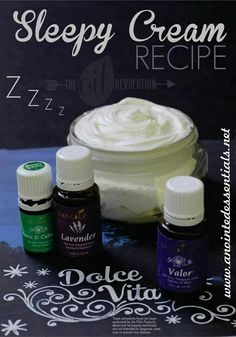 DeAun Phillis - YL Distributor #2049764 for more info email me at mdphillis81@yahoo.com Sleepy Cream with Young Living oils!