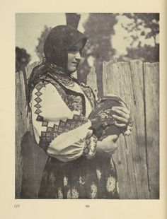 Russia--mother with infant.