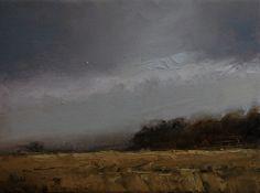 """Crop Field by Neil Carroll 8x6"""" oilpainting art painting landscape field #artists #oilpainting #landscape #art #painting #field"""