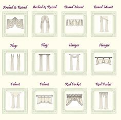 Pictures of Scarf Swags | Swags | Swag Curtains | Window Swag | Curtain with Swags