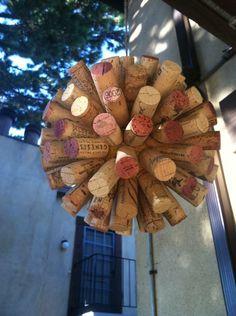 DIY Hanging Cork Balls
