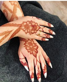 42 Trendy Henna Tattoo Design Ideas to Try,henna tattoo meaning,henna tattoo care,are henna tattoos permanent Latest Henna Designs, Mehndi Designs Book, Finger Henna Designs, Mehndi Designs 2018, Stylish Mehndi Designs, Bridal Henna Designs, Mehndi Design Images, Beautiful Henna Designs, Mehndi Patterns