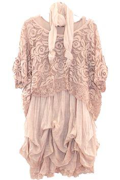 Boheme boho bohemian www.soobysophie.com robe dentelle rose