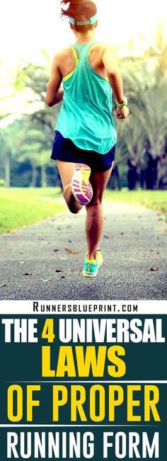 14 best Proper Running Form images on Pinterest Exercises, Running
