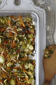 ... : http://www.candicekumai.com/recipes/dijon-braised-brussels-sprouts