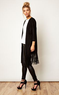 Check out the new faux suede cardigan, great if you're wanting to be stylish and snug, all at once!