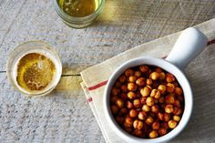 Toasty Roasted Chickpeas, Cajun Style 1 tablespoon olive oil 1 tablespoon grated Parmesan cheese 1/4 teaspoon sweet Hungarian paprika 1/4 teaspoon regular paprika 1/8 teaspoon cumin 1/8 teaspoon cayenne pepper 1/8 teaspoon garlic powder 1 pinch onion powder 1 tablespoon freshly squeezed lime juice