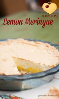 This old family recipe for Lemon Meringue Pie is just the right amount of tart and sweet. My sister-in-law says it is her favorite pie ever!