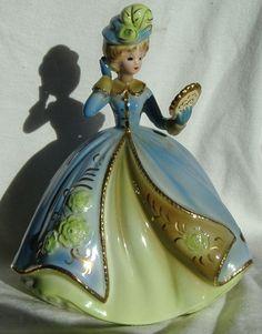 "Vintage Josef Originals figurine - ""New Hat"" - From the 'Mother's World' series"