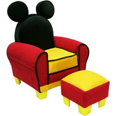Mickey Mouse Chair. I Really Really Want This. | I Want... | Pinterest | Mickey  Mouse Chair, Disney Mickey Mouse And Disney Mickey