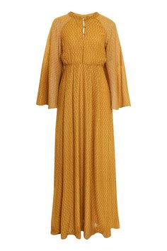 Long Sleeve Maxi Dress by YAS