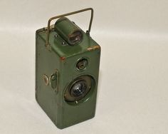 """Agfa Ansco Memo Camera Older """"Green Painted Finish"""" not A Boy Scout Version 