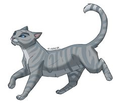 Warriors by Erin Hunter| Silverstream, RiverClan, Warrior, Queen, Graystripe's mate, Feathertail's and Stormfur's mother.