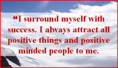 success affirmations - Google Search