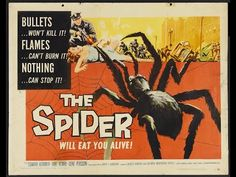 Earth vs The Spider 1958 full lenght movie | BEST B MOVIES - YouTube