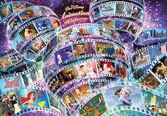 Tenyo Walt Disney Animation History Jigsaw Puzzle (1000 Piece) #DisneyPuzzle #ShopDisney Disney Kunst, Art Disney, Disney Mickey, Disney Movies, Disney Pixar, Mickey Mouse, Disney Characters, Disney Style, Walt Disney Animation