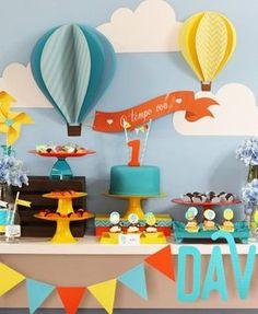 - New Deko Sites Boys First Birthday Party Ideas, Baby Boy Birthday, Circus Birthday, Boy Birthday Parties, Birthday Balloons, Baby Shower Ballons, Baby Event, 1st Birthdays, Birthday Decorations