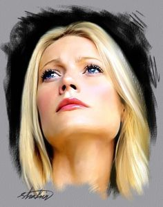 Gwyneth Paltrow by shahin