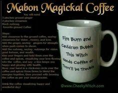 Mabon coffee